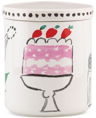 kate spade new york all in good taste Cake Canister