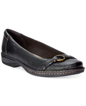 Clarks Collection Women's Pegg Alba Flats