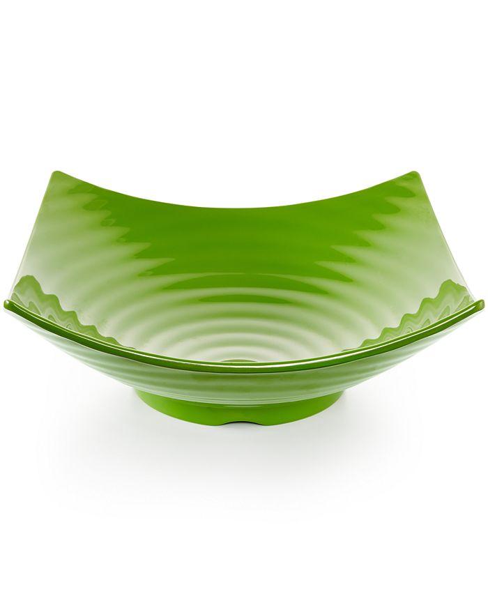 Q Squared - Q Zen Melamine Serving Bowl
