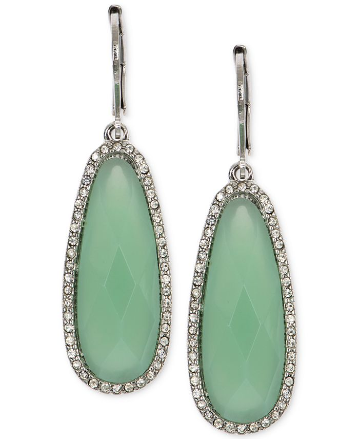 lonna & lilly - Large Stone Drop Earrings
