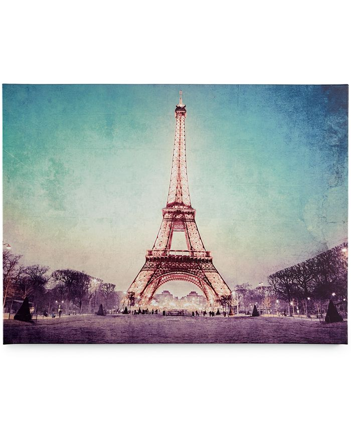 Graham & Brown - Canvas Paris At Dusk Wall Art