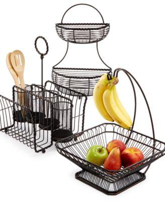 Gourmet Basics By Loop & Lattice 2-Tier Basket