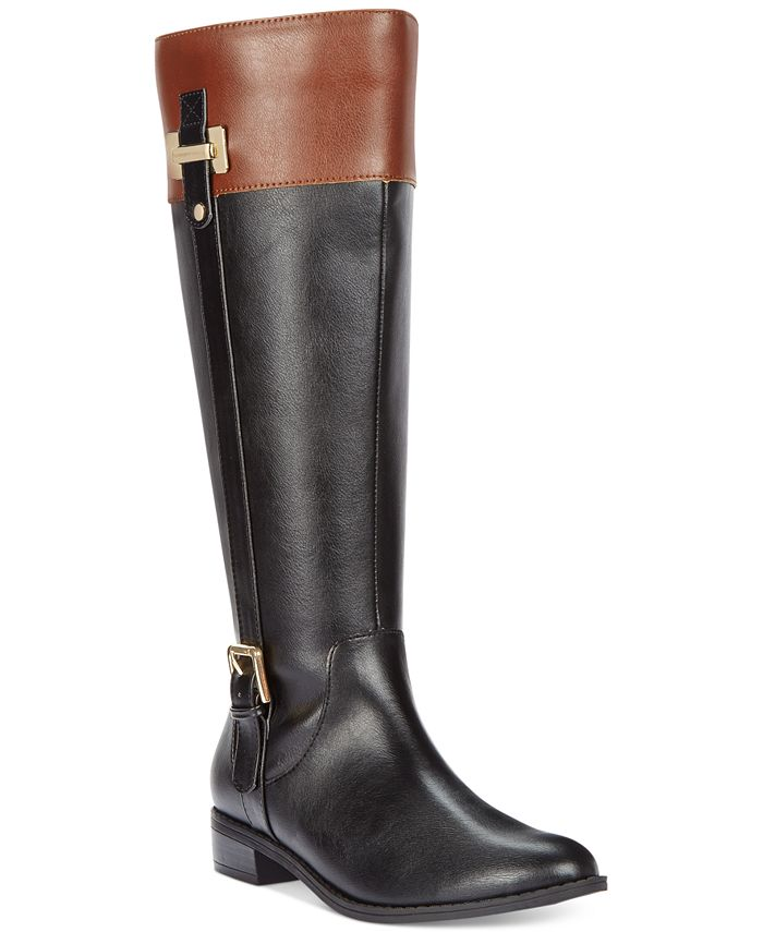 Karen Scott - Deliee Wide Calf Tall Boots