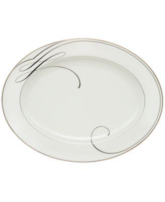 Waterford Ballet Ribbon Oval Platter