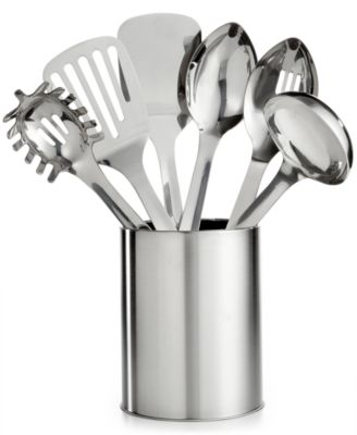 Martha Stewart Collection 7-Pc. Stainless Steel Utensil Set, Only at Macy's