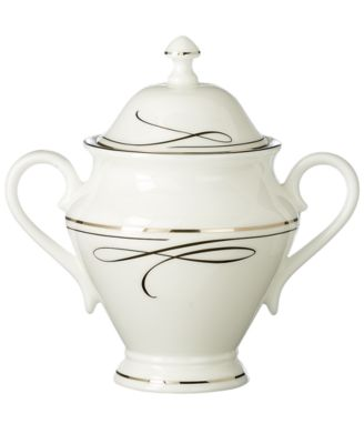 Waterford Ballet Ribbon Covered Sugar Bowl