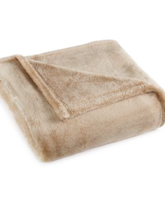 CLOSEOUT! Charter Club Ultra Plush Throw, Only at Macy's