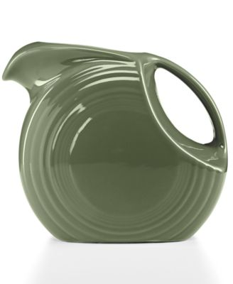 Fiesta Sage 67.75-oz. Large Disk Pitcher