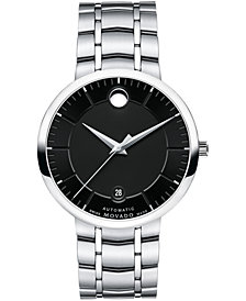 Movado Unisex Swiss Automatic 1881 Automatic Stainless Steel Bracelet Watch 39mm