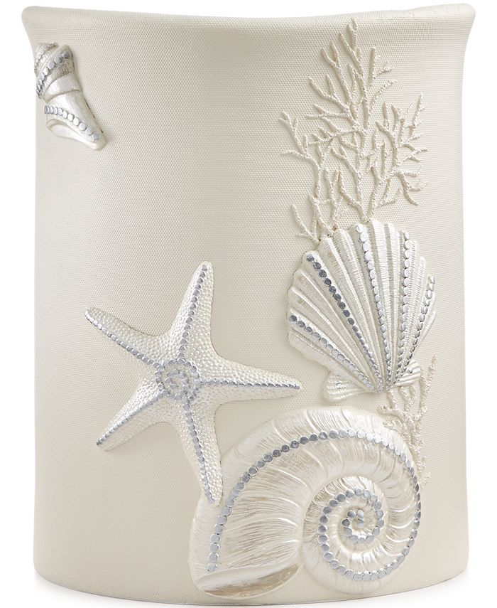 Avanti - Sequin Shells Wastebasket