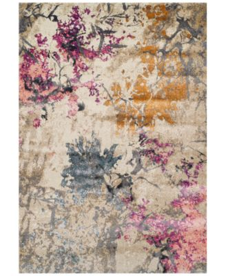 """Dalyn Modern Abstracts Impressions Ivory 7'10"""" x 10'7"""" Area Rug"""