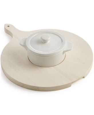 Martha Stewart Collection Cheesebaker & Serving Board