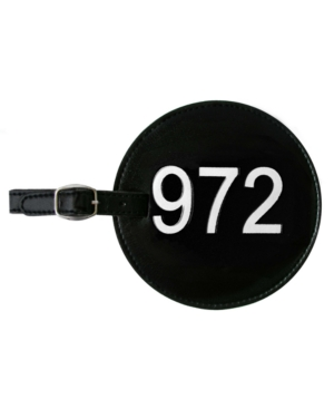 Area Code Luggage Tag 972