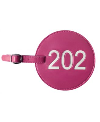 Area Code Luggage Tag 202