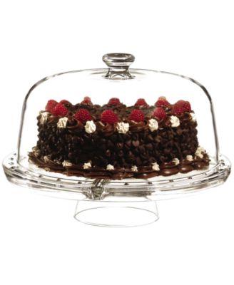 Luigi Bormioli Serveware, 4 In 1 Cake Stand