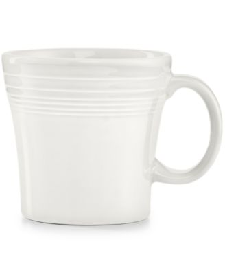 Fiesta White Tapered Mug