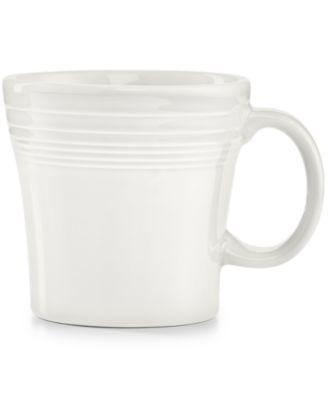 Fiesta White Tapered Mug