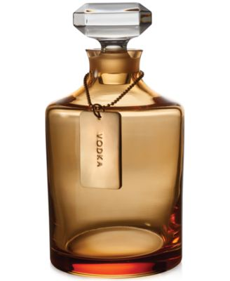 Waterford Rebel Collection Amber-Tone Decanter & Stopper