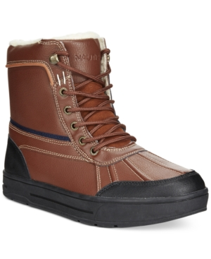 Nautica Lockview Winterized Duck Boots Men's Shoes