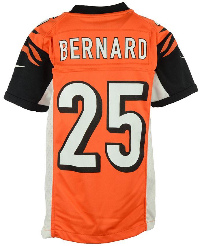 Nike Kids' Giovani Bernard Cincinnati Bengals Game Jersey, Big ...