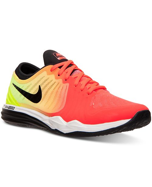 aguacero salto Sombreado  Nike Women's Dual Fusion TR 4 Print Training Sneakers from Finish Line &  Reviews - Finish Line Athletic Sneakers - Shoes - Macy's