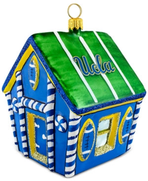 Joy to the World Ucla Bruins Gingerbread House Ornament