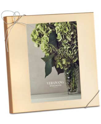 "Vera Wang Wedgwood Love Knots Gold 5x7"" Frame"