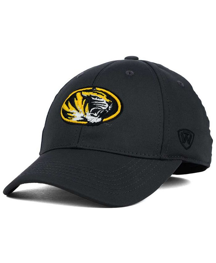 Top of the World - Missouri Tigers Alliance Gray Stretch-Fit Cap