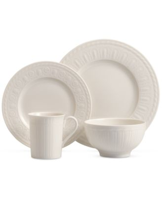 Villeroy & Boch Porcelain 4-Pc. Cellini Place Setting