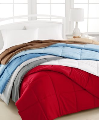 Home Design Down Alternative Color Full/Queen Comforter