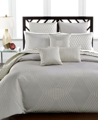 Hotel Collection Keystone King Comforter, Only at Macy's