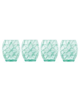 Luigi Bormioli Prezioso Set of 4 Double Old-Fashioned Glasses