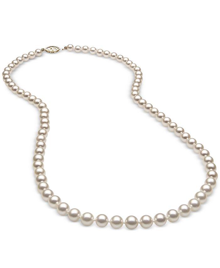 Belle de Mer - AA Cultured Freshwater Pearl (5mm) Strand in 14k Gold