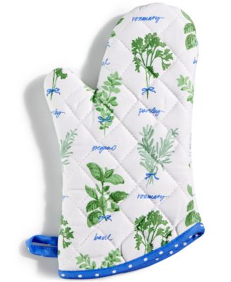 Martha Stewart Collection Hand Picked Herbs Oven Mitt, Only at Macy's
