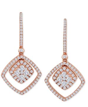 Le Vian? Vanilla? Diamond Drop Earrings (9/10 ct. t.w.) in 14k Rose Gold