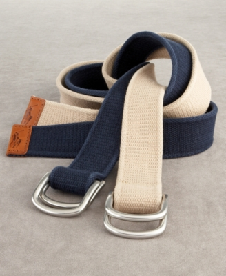 Polo Ralph Lauren Cotton D Ring Belt