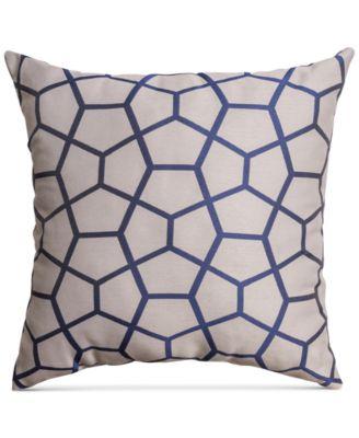 "Softline Diane 20"" Square Decorative Pillow"