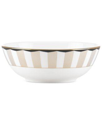 Brian Gluckstein by Lenox Audrey Bone China Rim Soup Bowl