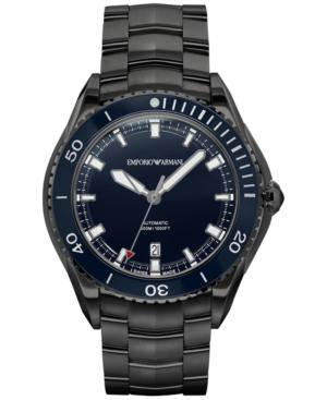 Emporio Armani Men's Swiss Automatic Sport Stainless Steel Bracelet Watch 43mm ARS9007