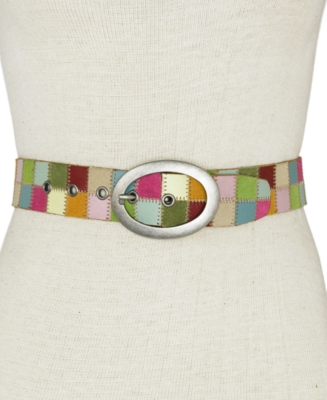Printed Belt - Fossil