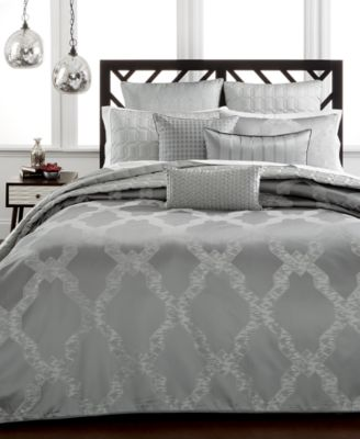 Hotel Collection Chalice King Duvet Cover, Only at Macy's