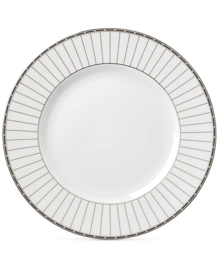 Lenox - Onyx Platinum Collection Bone China Dinner Plate