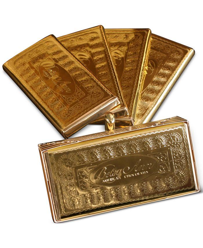 Betsy Ann Chocolates - Set of 4 Gold Chocolate Bar Gift Box