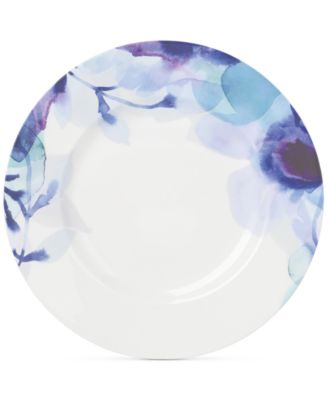 Lenox Indigo Watercolor Floral Porcelain Accent/Salad Plate, A Macy's Exclusive Style
