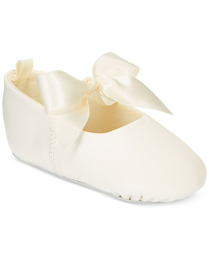 First Impressions - Baby Girl Ballerina Slippers