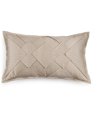 "Hotel Collection Finest Sunburst Embroidered 14"" x 24"" Decorative Pillow, Only at Macy's"
