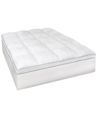 SensorGel MemoryLOFT® 3.5'' Gel-Infused Queen Memory Foam and Fiber Mattress Topper