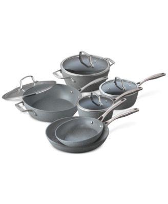 Bialetti Granito Pro 10-Pc. Cookware Set