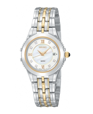 Seiko Watch, Women's Le Grand Sport Stainless Steel Bracelet SXDA26