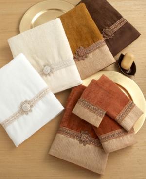 """Avanti """"Braided Cuff"""" Bath Towel, 25x50"""""""